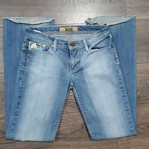 ❤ INDIE BOOTCUT JEANS, SIZE 2 (26)